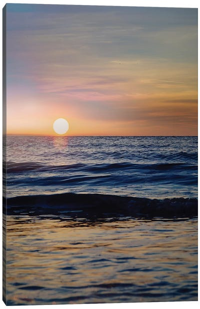 Beach III Canvas Art Print