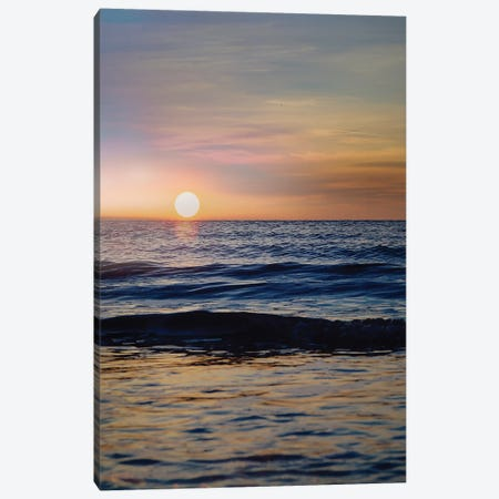 Beach III Canvas Print #DLX3} by Danilo de Alexandria Canvas Art Print
