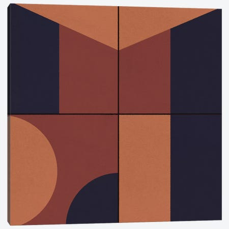 Geometric I Canvas Print #DLX44} by Danilo de Alexandria Canvas Artwork