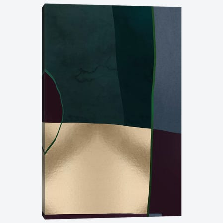 Geometric II Canvas Print #DLX45} by Danilo de Alexandria Canvas Artwork
