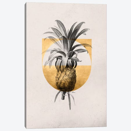 Golden Tropical I Canvas Print #DLX48} by Danilo de Alexandria Canvas Art Print