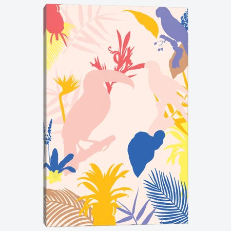 Leaf Art  Diptych I Canvas Print #DLX57} by Danilo de Alexandria Canvas Art Print