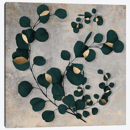Leaf Art VI Canvas Print #DLX66} by Danilo de Alexandria Canvas Artwork
