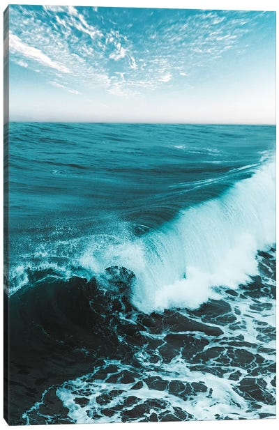 Beach V Canvas Art Print