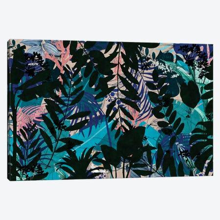 Leaf Art XVIII Canvas Print #DLX77} by Danilo de Alexandria Art Print