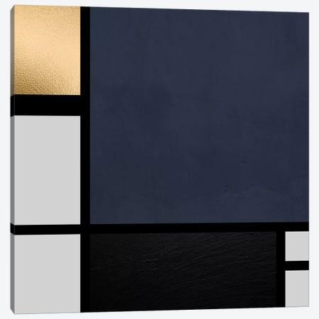 Modernian Golden I Canvas Print #DLX88} by Danilo de Alexandria Canvas Art Print
