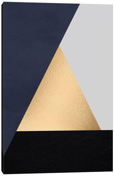 Modernian Golden III Canvas Art Print