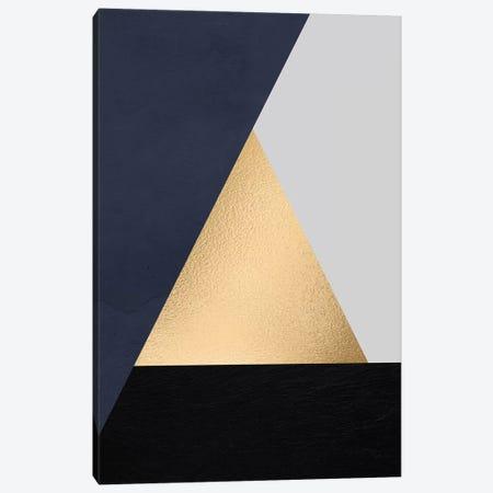 Modernian Golden III Canvas Print #DLX90} by Danilo de Alexandria Canvas Wall Art