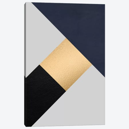 Modernian Golden IV Canvas Print #DLX91} by Danilo de Alexandria Canvas Artwork