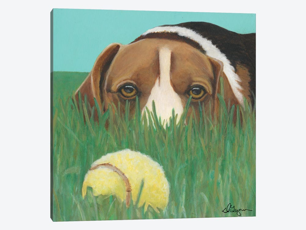 Sunny by Dlynn Roll 1-piece Canvas Artwork