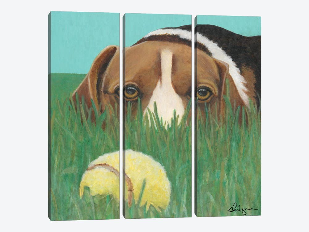 Sunny by Dlynn Roll 3-piece Canvas Artwork