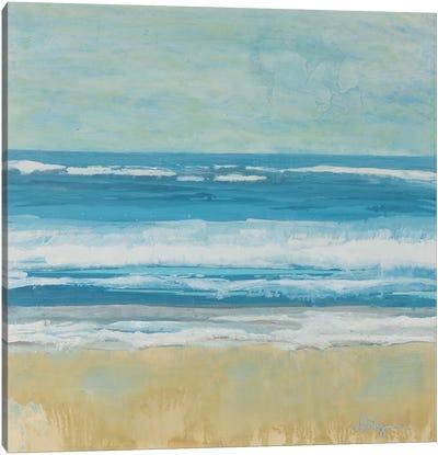 Puddle Beach Canvas Art Print