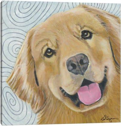 Dlynn's Dogs Series: Cosmo Canvas Print #DLY3