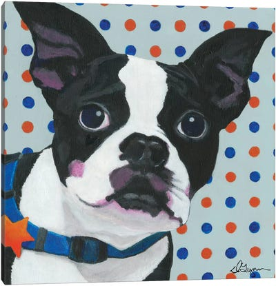 Dlynn's Dogs Series: Diesel Canvas Print #DLY4