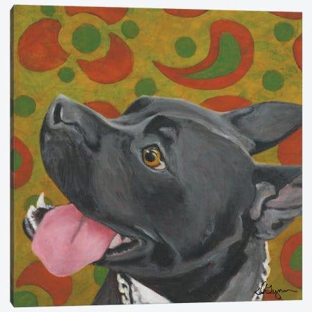 Kendall Canvas Print #DLY7} by Dlynn Roll Art Print