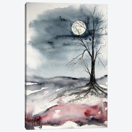 Moon Light Landscape Canvas Print #DMC104} by Derek McCrea Canvas Art