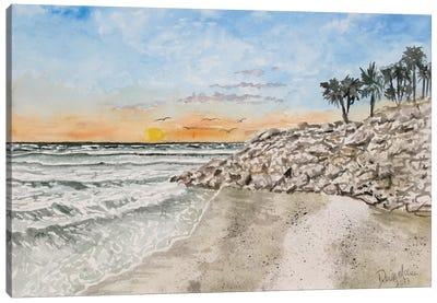 Bradenton Beach Painting Canvas Art Print