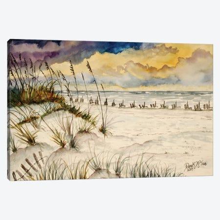 Destin Beach, Florida Canvas Print #DMC29} by Derek McCrea Canvas Art Print
