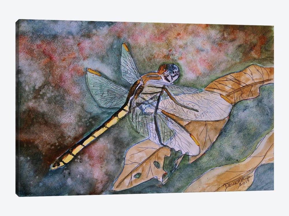 Dragonfly I by Derek McCrea 1-piece Canvas Wall Art