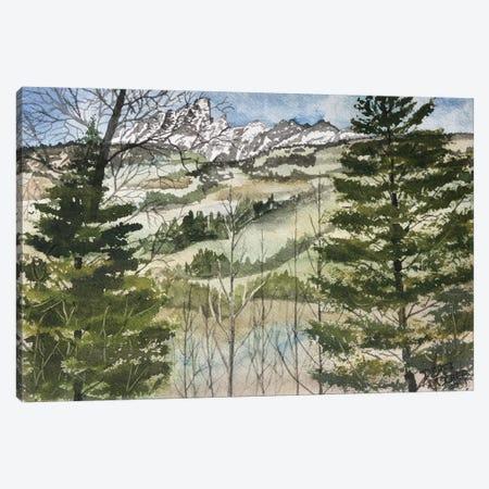 Grand Teton National Park Canvas Print #DMC38} by Derek McCrea Canvas Artwork
