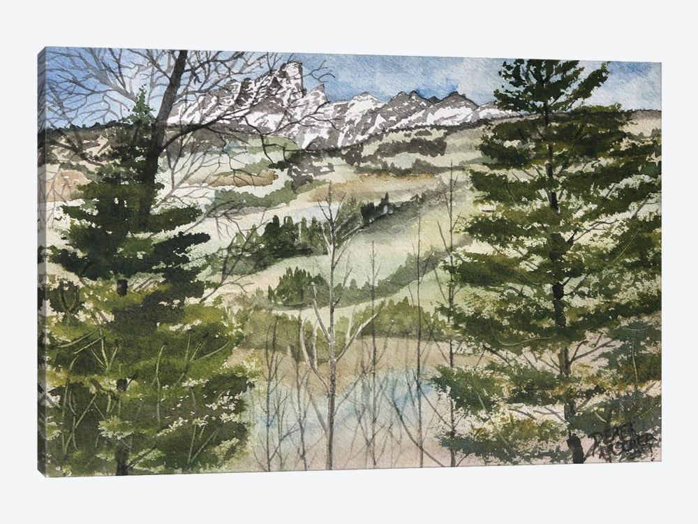 Grand Teton National Park by Derek McCrea 1-piece Canvas Print