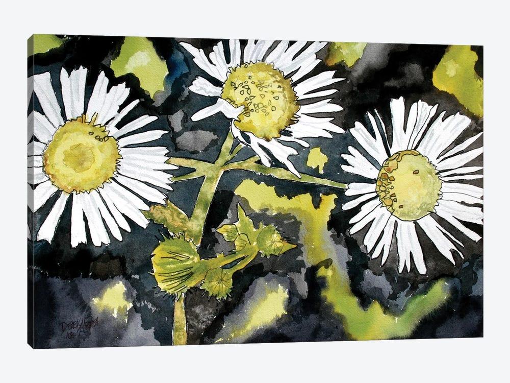 Heath Aster Flowers by Derek McCrea 1-piece Canvas Art