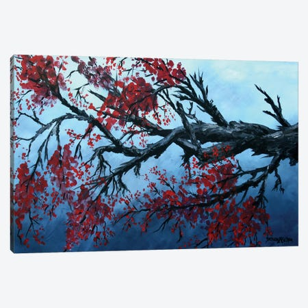 Japanese Cherry Blossom Flowers Canvas Print #DMC45} by Derek McCrea Canvas Art