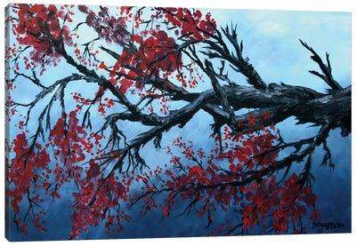 Japanese Cherry Blossom Flowers Canvas Art Print