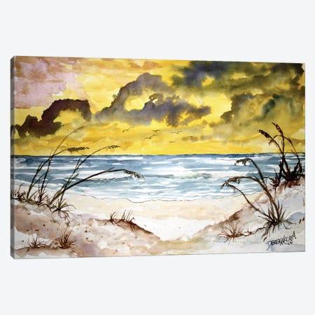 Beach Seascape Canvas Print #DMC5} by Derek McCrea Canvas Art Print