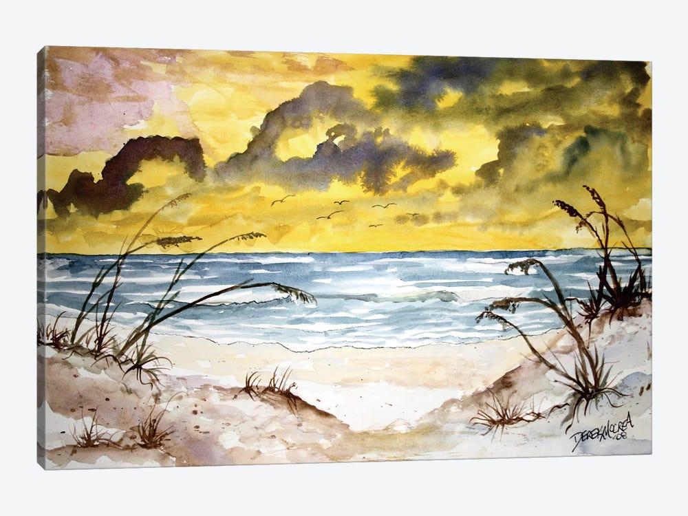 Beach Seascape by Derek McCrea 1-piece Canvas Artwork