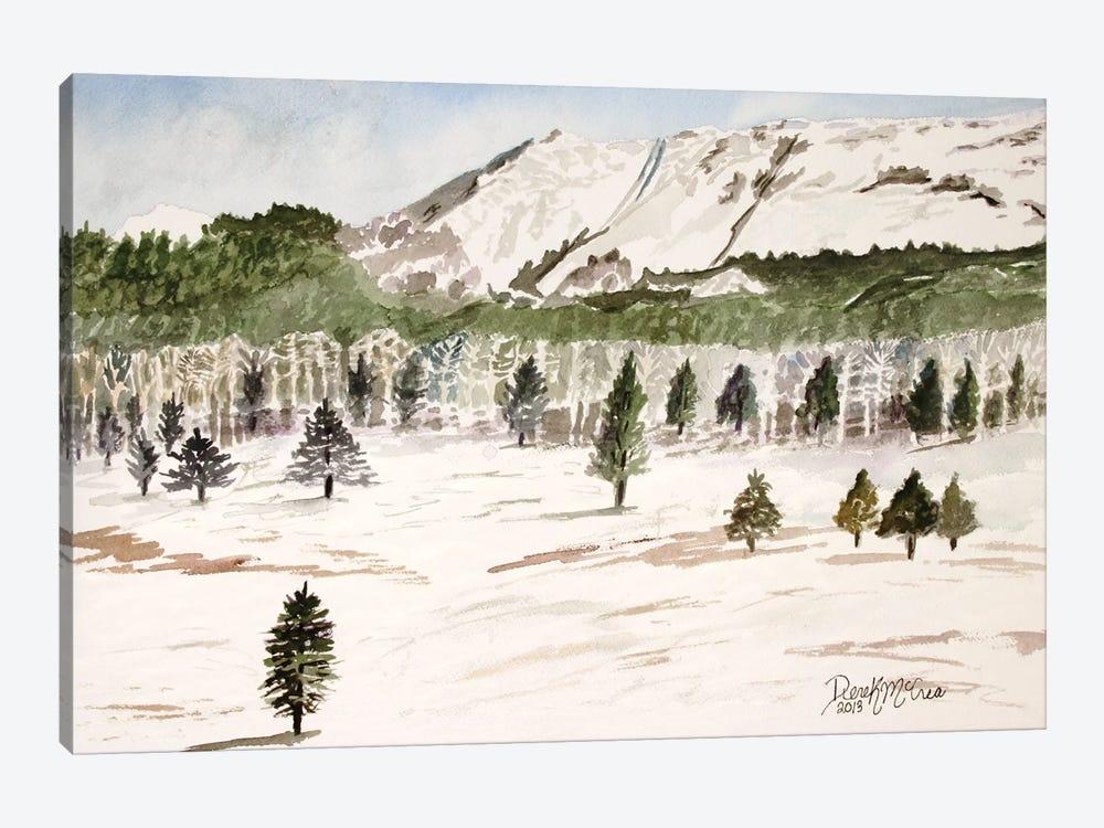 Pike's Peak Mountain Landscape by Derek McCrea 1-piece Canvas Art Print