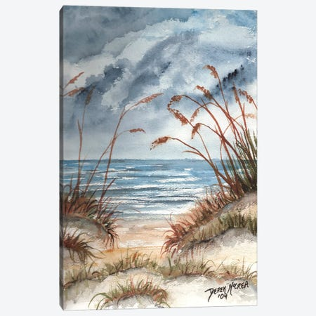 Sand Dunes Canvas Print #DMC69} by Derek McCrea Canvas Art Print