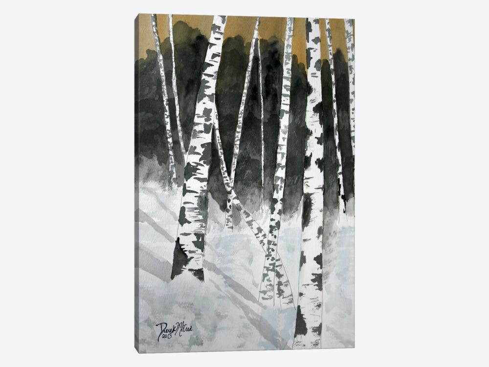 Birch Trees by Derek McCrea 1-piece Canvas Art Print