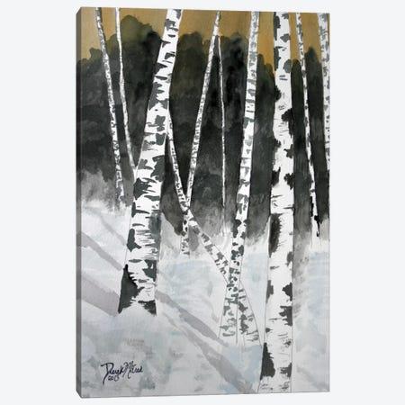 Birch Trees 3-Piece Canvas #DMC6} by Derek McCrea Art Print