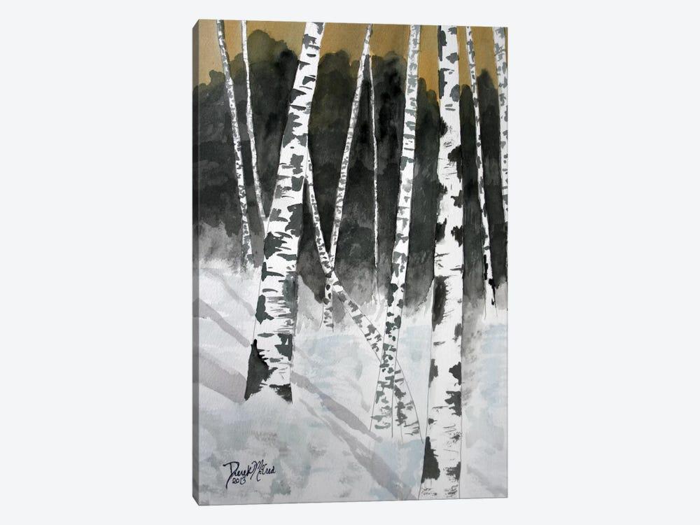 Birch Trees by Derek McCrea 1-piece Canvas Art Print