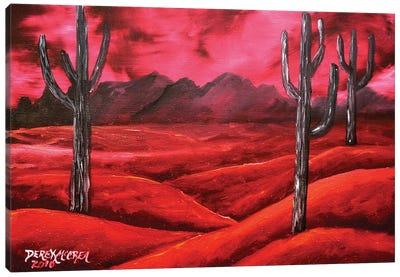 Southwestern Desert Canvas Art Print