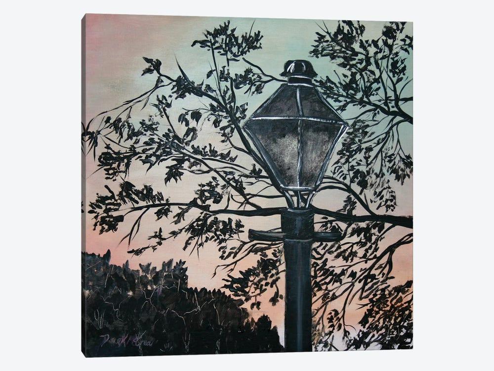 Street Light Painting by Derek McCrea 1-piece Canvas Artwork