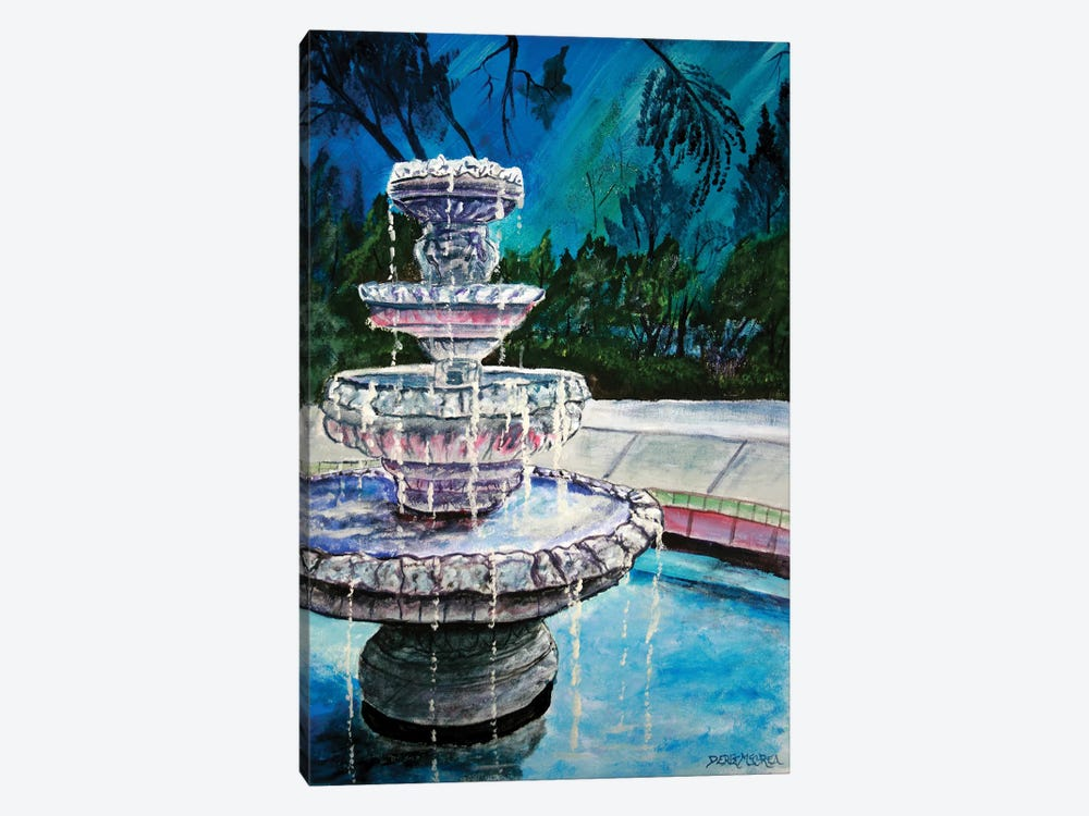 Water Fountain II 1-piece Canvas Wall Art