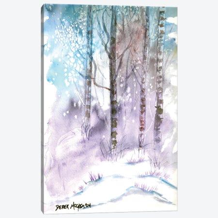 Winter Landscape 3-Piece Canvas #DMC90} by Derek McCrea Canvas Artwork