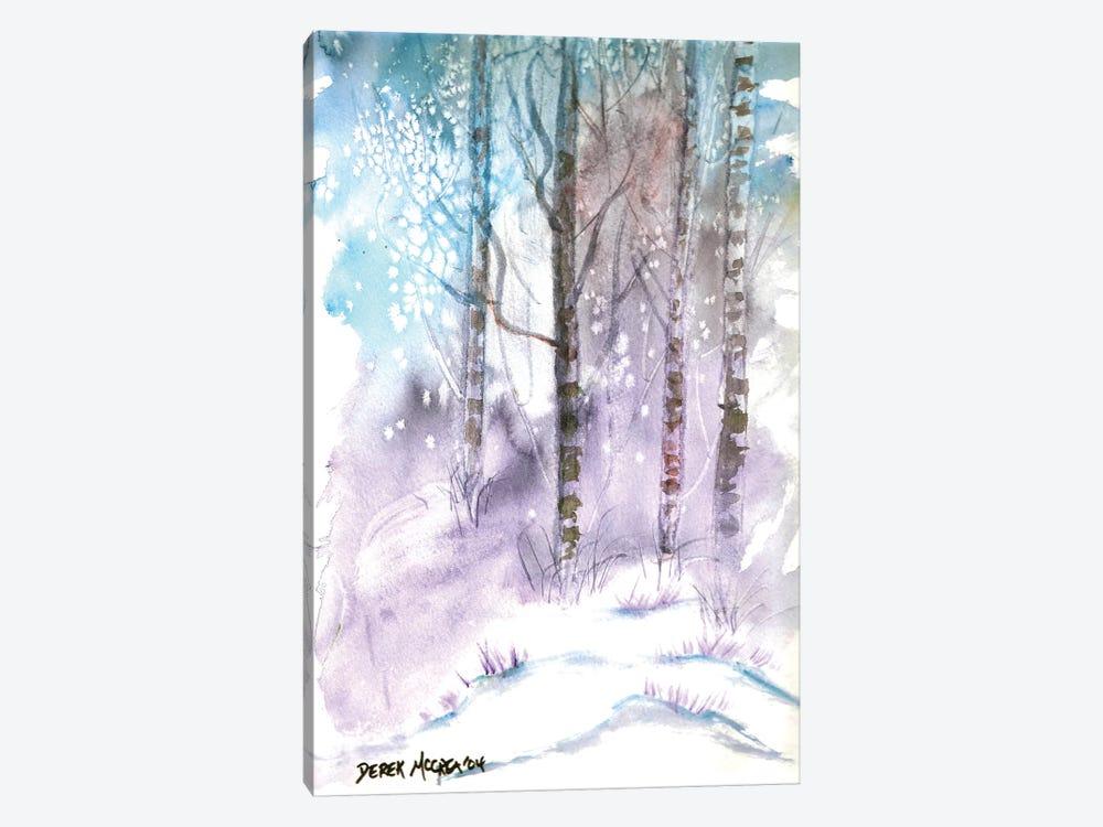 Winter Landscape by Derek McCrea 1-piece Canvas Print