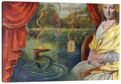 Lucky #5 Canvas Art Print
