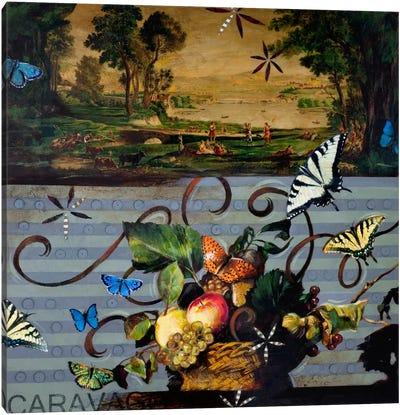 Picnic With Caravaggio Canvas Art Print