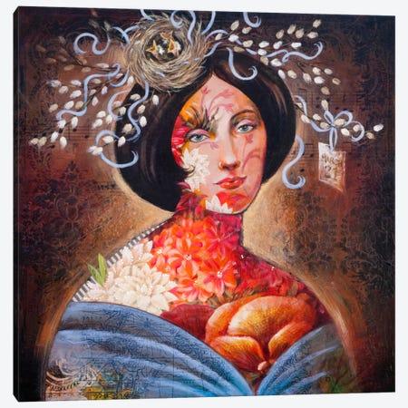 Springtime For Gaia Canvas Print #DME16} by Darlene McElroy Art Print