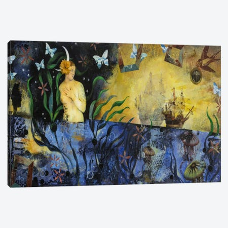 Too Many Romance Novels Canvas Print #DME20} by Darlene McElroy Canvas Art Print