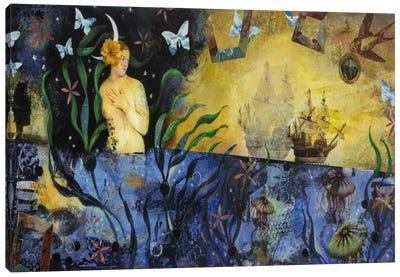 Too Many Romance Novels Canvas Art Print