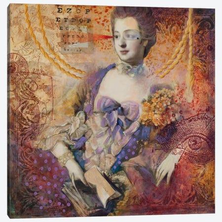 Vision Check Canvas Print #DME21} by Darlene McElroy Art Print