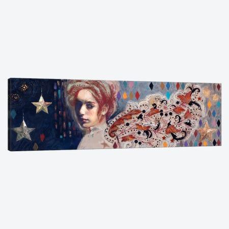 Carnivale Wings Canvas Print #DME3} by Darlene McElroy Canvas Art
