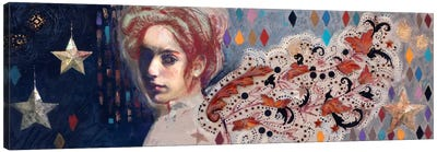 Carnivale Wings Canvas Art Print