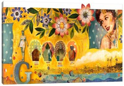 Girlie Girl Canvas Art Print