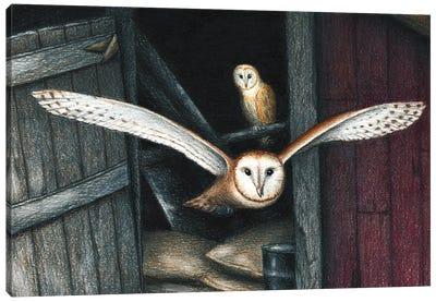 Born In A Barn Canvas Art Print